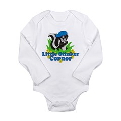 Little Stinker Connor Long Sleeve Infant Bodysuit