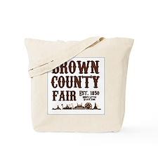 Brown County Fair (Border) Tote Bag