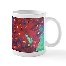 Red Flower Mug