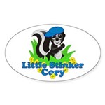 Little Stinker Cory Sticker (Oval)