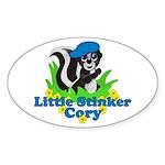 Little Stinker Cory Sticker (Oval 10 pk)