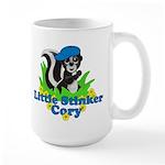 Little Stinker Cory Large Mug