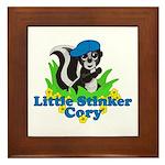 Little Stinker Cory Framed Tile