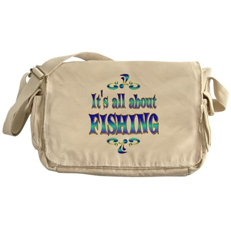About Fishing Messenger Bag