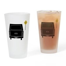 Dead End Hearse Drinking Glass