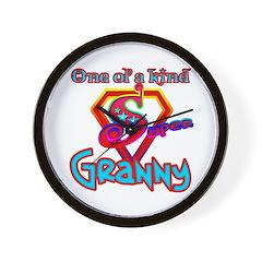 SUPER GRANNY Wall Clock