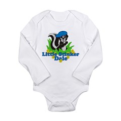 Little Stinker Dale Long Sleeve Infant Bodysuit