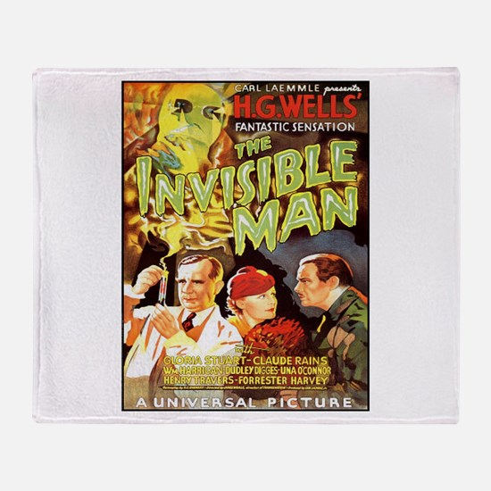The Invisible Man Throw Blanket