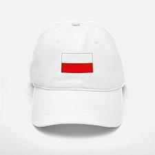 Polish Flag Baseball Baseball Cap