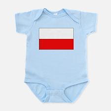 Polish Flag Infant Creeper