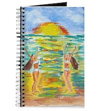 Twins at Beach Journal