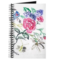 Flowers and Butterfly Journal