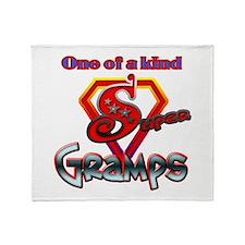 Super Gramps Throw Blanket
