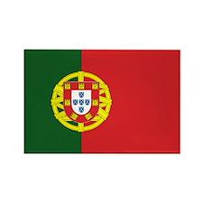 Portugese Flag Rectangle Magnet