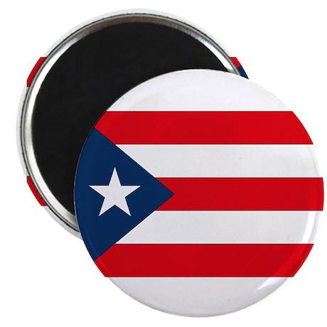 Puerto Rican Flag Magnet