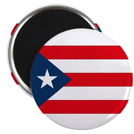 """Puerto Rican Flag 2.25"""" Magnet (10 pack)"""
