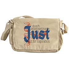 Procrastinator Messenger Bag