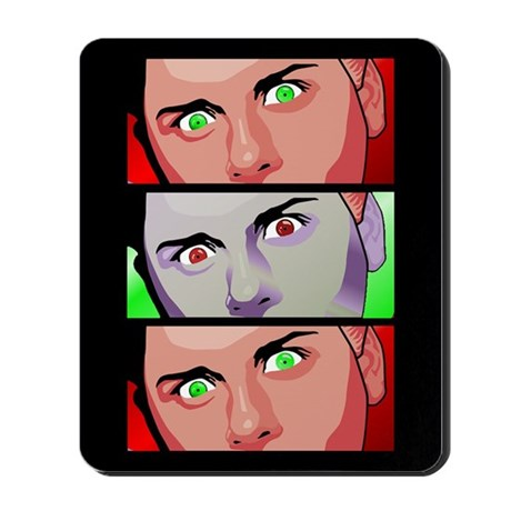 Devil Within Mousepad