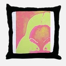 Funny Punk princess Throw Pillow