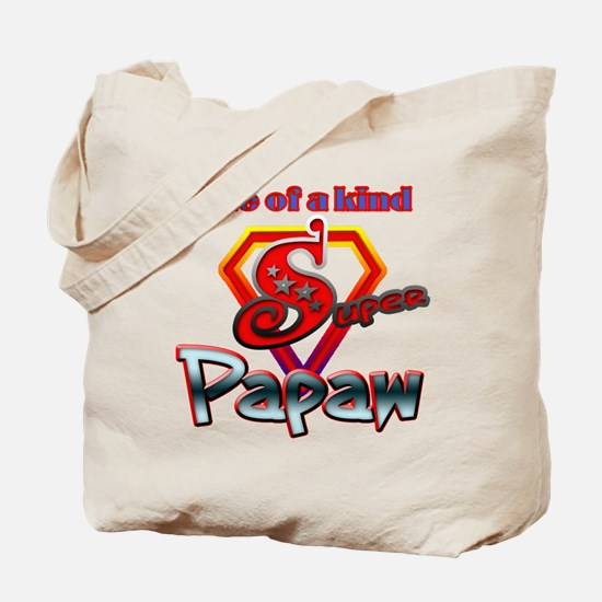 SUPER PAPAW Tote Bag