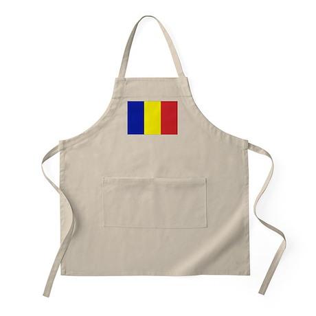 Romanian Flag BBQ Apron
