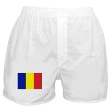 Romanian Flag Boxer Shorts
