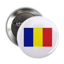 "Romanian Flag 2.25"" Button (10 pack)"