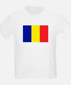 Romanian Flag Kids T-Shirt