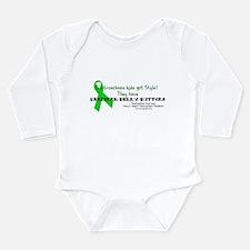 Designer Belly Button Long Sleeve Infant Bodysuit