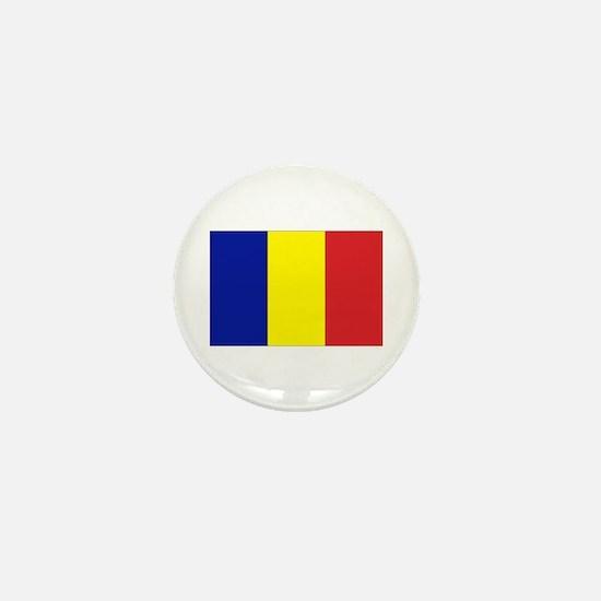 Romanian Flag Mini Button