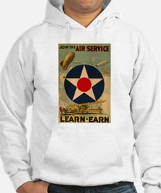 1917 WWI Poster Air Service Hoodie