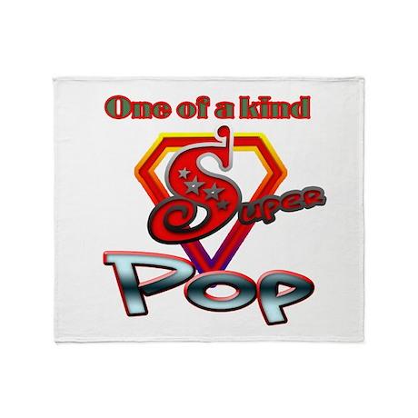 SUPER POP Throw Blanket