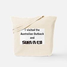 Outback Survivor Tote Bag
