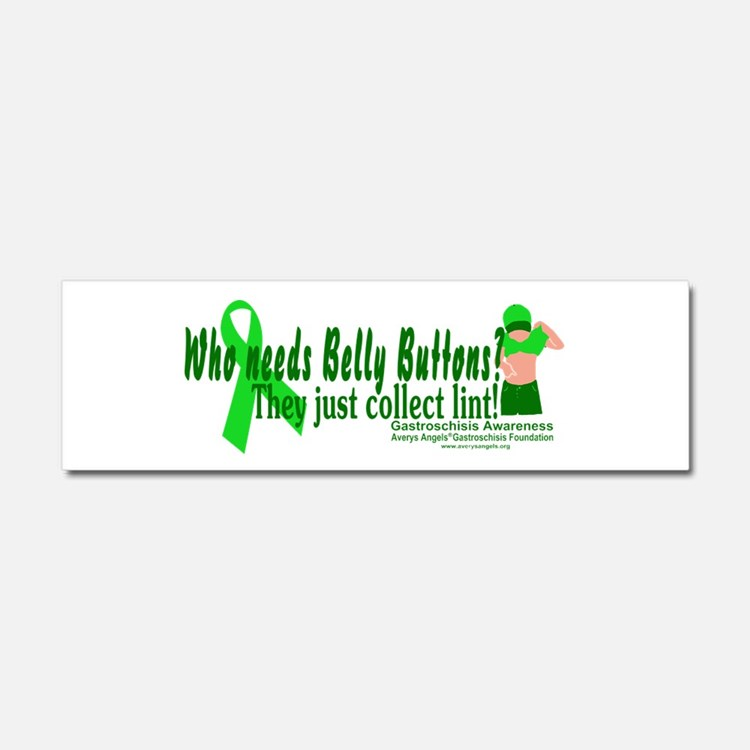 Who needs Belly Buttons? They Car Magnet 10 x 3