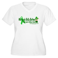 Who needs Belly Buttons? They T-Shirt