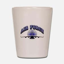 US Air Force Tanker Shot Glass