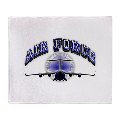 US Air Force Tanker Throw Blanket