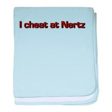 Nertz Cheat baby blanket