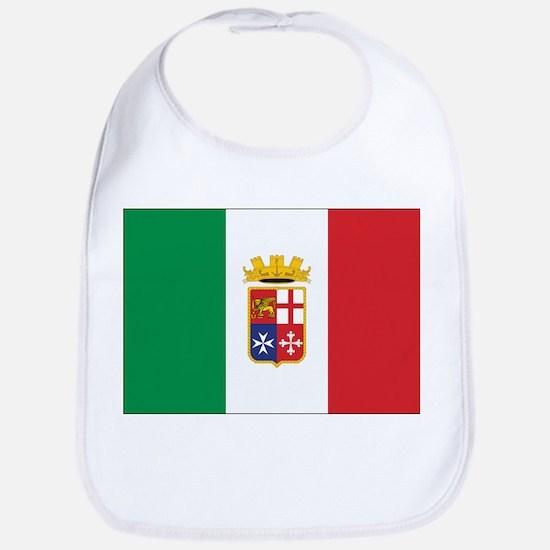 Italy Naval Ensign Bib