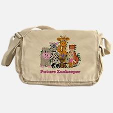 Future Zookeeper Girl Messenger Bag