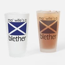 Blether Drinking Glass