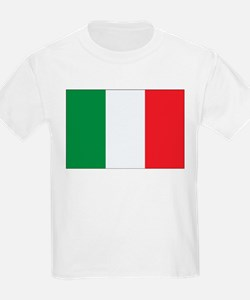 Italy Flag Kids T-Shirt