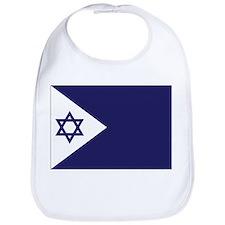 Israel Naval Ensign Bib