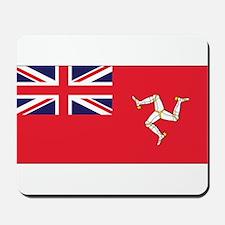 Isle of Man Civil Ensign Mousepad