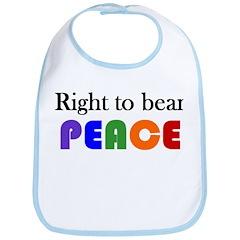Bib - bear peace