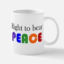 Mug - bear peace