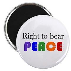 Magnet - bear peace