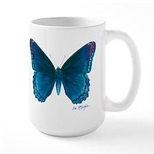 Big blue butterfly Mug