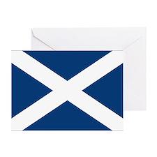 Scottish Flag Greeting Cards (Pk of 10)