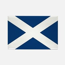 Scottish Flag Rectangle Magnet